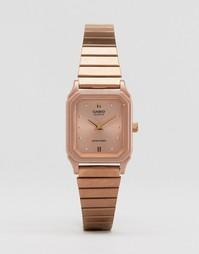 Часы в винтажном стиле Casio LQ-400R-5AEF LQ-400R-5AEF - Медный