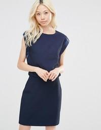 Облегающее платье Y.A.S Electra - Navy blazer
