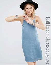 Платье-комбинация Glamorous Tall - Синий