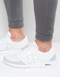 Белые кроссовки New Balance 420 Revlite MRL420WG - Белый