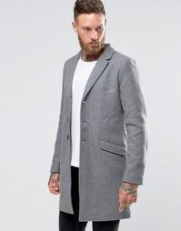 Пальто Only & Sons - Светло-серый меланж