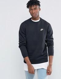 Черный свитшот Nike 804340-010 - Черный