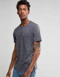 Темно-серая меланжевая футболка с карманом Levis Sunset Levis®