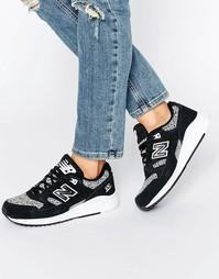 Монохромные кроссовки с сетчатой отделкой New Balance 530