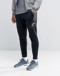 Черные зауженные спортивные штаны Nike International 802375-010
