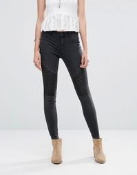 Черные зауженные джинсы Only - Черный