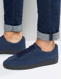 Замшевые кроссовки Fred Perry Umpire - Темно-синий