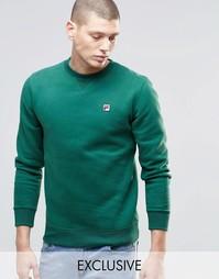 Свитшот с логотипом Fila Vintage - Зеленый