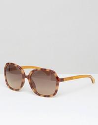 Большие солнцезащитные очки CK Jeans - Бирюзовый Calvin Klein