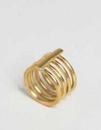 Решетчатое кольцо Made - Золотой