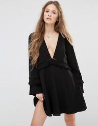 Платье мини Stevie May - Черный