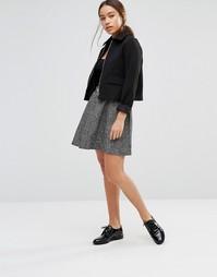 Короткая расклешенная юбка Gestuz Eva