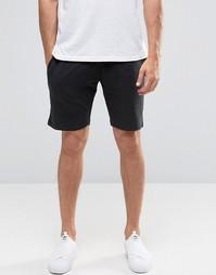 Трикотажные шорты Selected - Черный