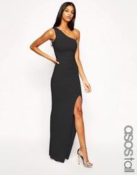 Облегающее платье макси на одно плечо эксклюзивно для ASOS TALL