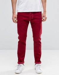 Красные джинсы скинни Diesel Tepphar 856Y - Красный цвет