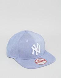 Оксфордская бейсболка New Era 9Fifty NY Yankees - Синий