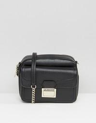 Маленькая сумка через плечо Love Moshino - Черный