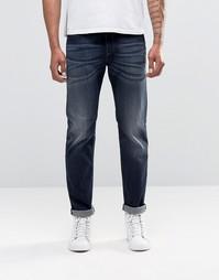 Темно-выбеленные прямые джинсы Diesel Buster 853V - Темно-выбеленный