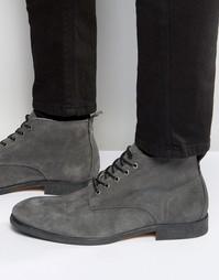 Замшевые ботинки Hudson London Cooke - Серый