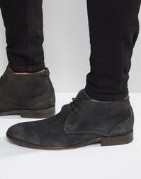 Замшевые ботинки Hudson London Osbourne - Черный