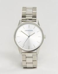 Часы UNKNOWN Classic - 39 мм - Серебряный