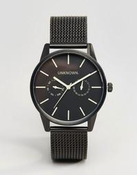 Черные часы 39 мм UNKNOWN - Черный