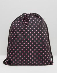 Рюкзак со звездным принтом Mi-Pac - Черный