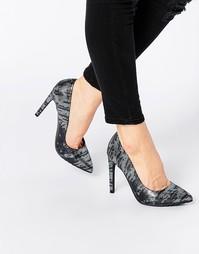 Туфли-лодочки с принтом кожи ящерицы Blink
