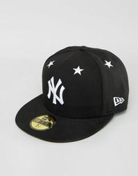Кепка New Era 59Fifty NY Yankees - Черный
