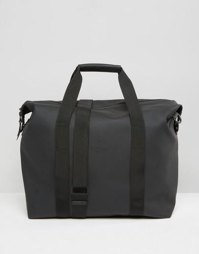 Черная сумка на молнии Rains - Черный