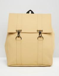 Песочный рюкзак Rains MSN - Бежевый
