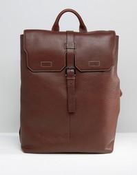 Рюкзак из зернистой кожи Ted Baker - Коричневый