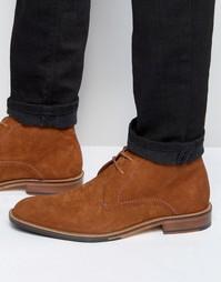 Замшевые невысокие ботинки Ted Baker Torsdi - Рыжий