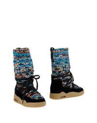 Черные Полусапоги и высокие ботинки Serafini Luxury