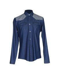 Джинсовая рубашка Balenciaga