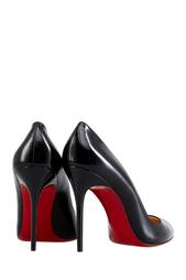Черные Туфли из лакированной кожи Corneille 100 Christian Louboutin
