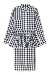 Хлопковое платье-рубашка Mixer