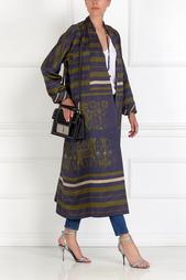 Шелковое пальто Gourji
