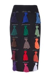 Шерстяная юбка Sapere Stella Jean