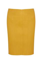 Кожаная юбка American Retro