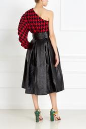 Шерстяной пуловер Black Bunny One-Sleeve A.W.A.K.E.