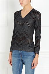 Пуловер с металлизированными нитями M Missoni