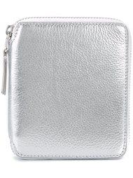 кошелёк на молнии с металлическим отблеском Comme Des Garçons Wallet