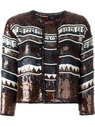 укороченный пиджак и жилет 'Les Existentialistes' с пайетками Jean Paul Gaultier Vintage