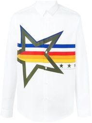 рубашка с принтом звезды  Iceberg