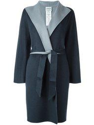 пальто с контрастными лацканами  Armani Collezioni