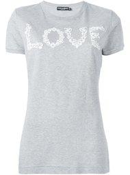 футболка 'Love' Dolce & Gabbana