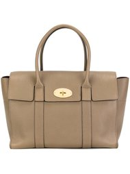 сумка-тоут с золотистыми деталями Mulberry