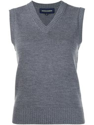 V-neck knitted vest Vanessa Seward