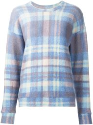 checked pullover The Elder Statesman